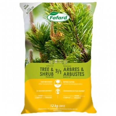 Terreau 3/1 pour arbres & arbustes