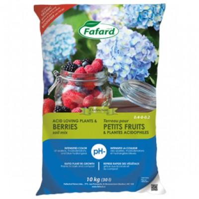 Terreau pour petits fruits & plantes acidophiles